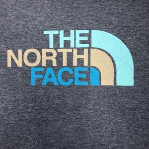 The North Face classic fit T-shirt blue, sz XL